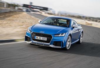 Audi TT RS: sporten zonder zweet #1