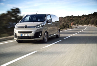 Citroën SpaceTourer : Troepentransport #1