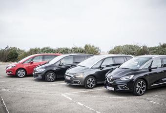 Renault Grand Scénic face à 3 rivales #1