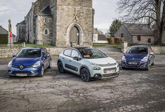 Citroën C3 tegen 2 concurrenten : Frans onderonsje #1