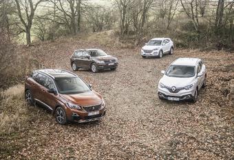 Peugeot 3008 face à 3 rivales : L'intrépide de la meute #1