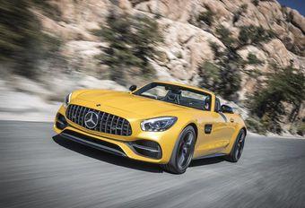 AMG GT Roadster: Mercedes scalpeert de AMG GT #1