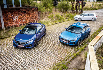 HONDA CIVIC 1.0 i-VTEC // HYUNDAI i30 1.0 T-GDi // VOLKSWAGEN GOLF 1.0 TSI BLUEMOTION : Calimerocomplex #1
