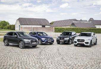 Audi Q5 tegen 3 concurrenten #1