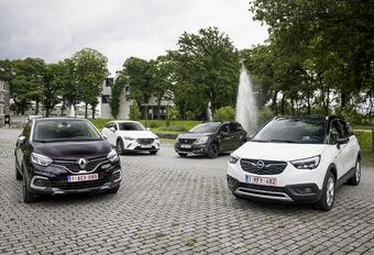 4 Petits SUV : Guérilla urbaine #1