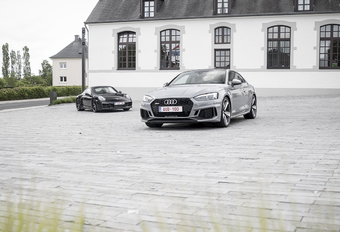 Audi RS5 vs Porsche 911 Carrera GTS : Verre neven #1