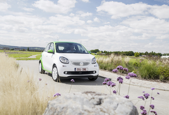 Smart Forfour Electric Drive : De ideale stadsauto? #1