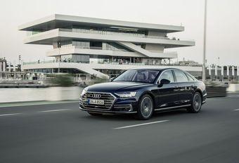 Audi A8 : forteresse de sport #1