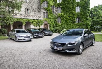 Opel Insignia contre 3 rivales #1