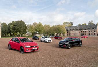 Volkswagen Polo en Ford Fiesta 2018 tegen 5 rivalen #1