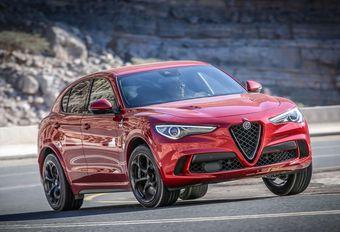 Alfa Romeo Stelvio Quadrifoglio: Quadri-folie #1
