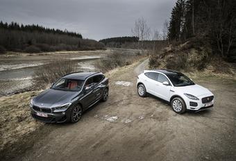 BMW X2 vs Jaguar E-Pace #1