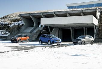 Opel Grandland X tegen 2 rivalen #1