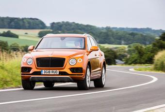 Bentley Bentayga V8 : Bijna net zo indrukwekkend #1