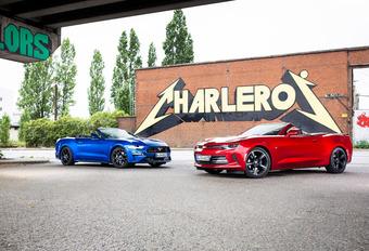 Ford Mustang vs Chevrolet Camaro #1