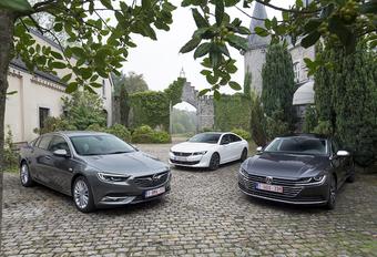 Peugeot 508 vs 2 rivalen #1