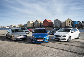 Ford Focus contre 5 rivales #1