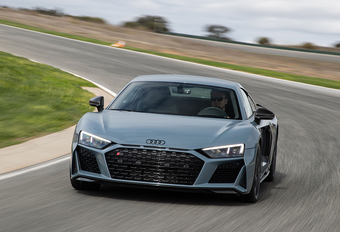 Audi Sport R8 V10 Performance (2018) - circuittest #1