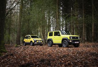 Fiat Panda 4x4 vs Suzuki Jimny : Bos-en slijkduivels #1
