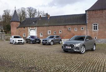 Audi Q3 tegen 3 rivalen #1