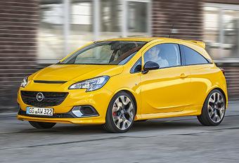 Opel Corsa GSi : renforcer l'image #1