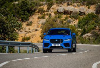 Jaguar F-Pace SVR: Heerlijk anachronisme #1