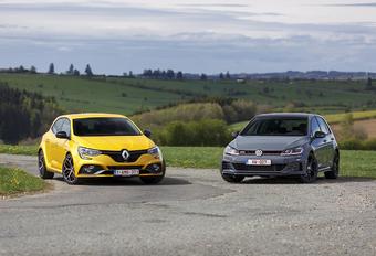 Volkswagen Golf GTI TCR vs Renault Megane R.S. Trophy #1