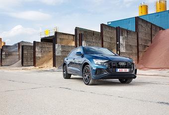 Audi SQ8: Tegen de stroom in #1