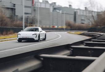 Porsche Taycan Turbo S : De eerste elektrische sportwagen #1