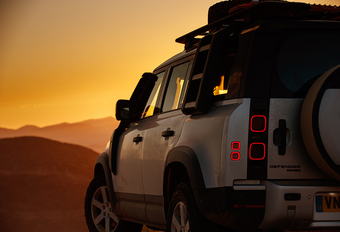 Land Rover Defender 110 P400 AWD (2020) - terreintest #1