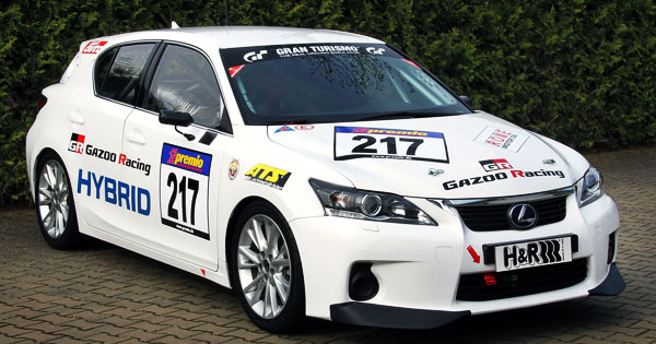 Fotos Hybride Racer Lexus Ct 200h By Gazoo Racing Autowereld