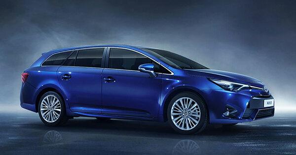Eerste Foto S Nieuwe Toyota Avensis Autowereld