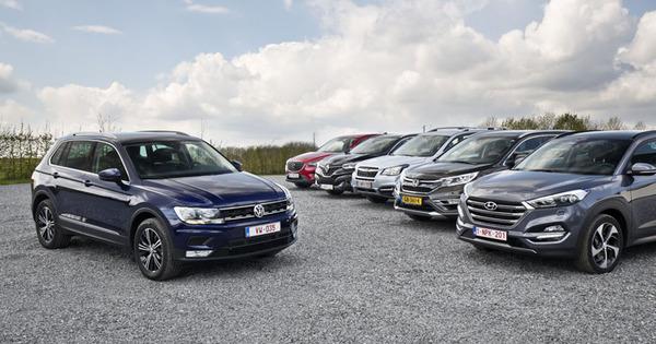 test volkswagen tiguan  concurrenten  autogids