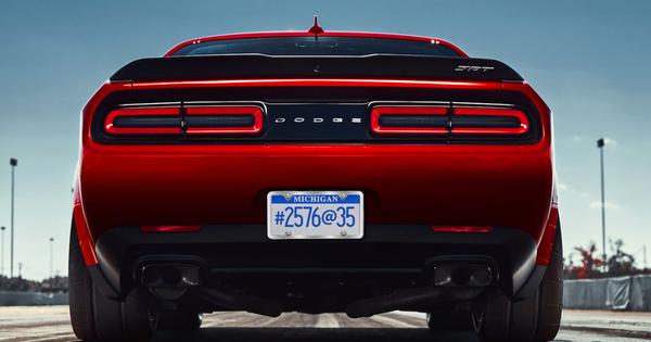 Dodge Challenger Srt Demon Autowereld