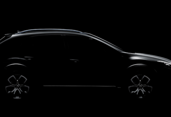 VERWACHT IN SJANGHAI: Subaru XV Concept #1
