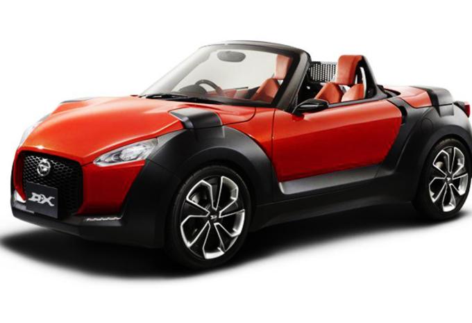 KLEIN IS FIJN: Daihatsu D-X Concept #1