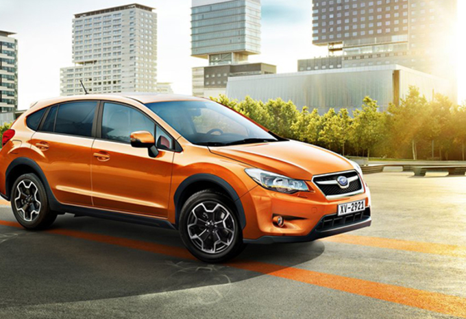 Subaru is klein maar dapper op het Autosalon Brussel 2014 #1