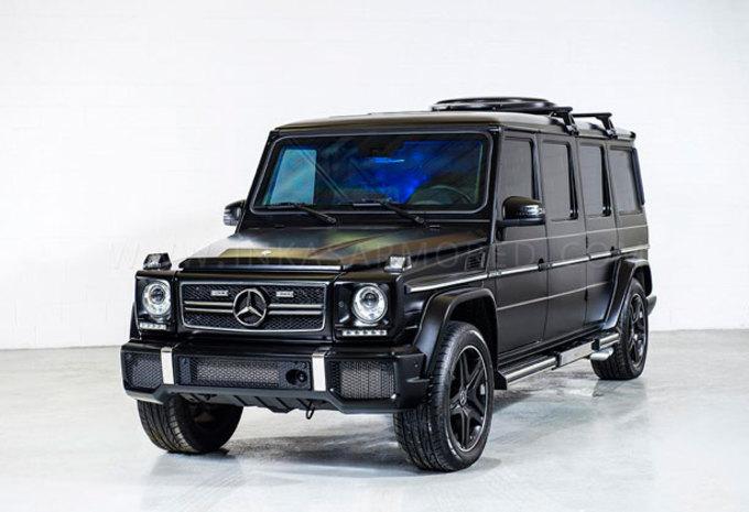 Mercedes G-klasse in legerjasje #1