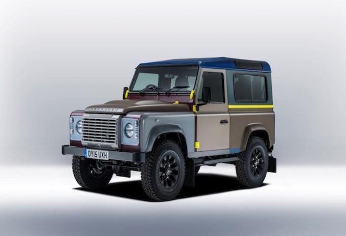 Land Rover Defender in kunstjasje #1