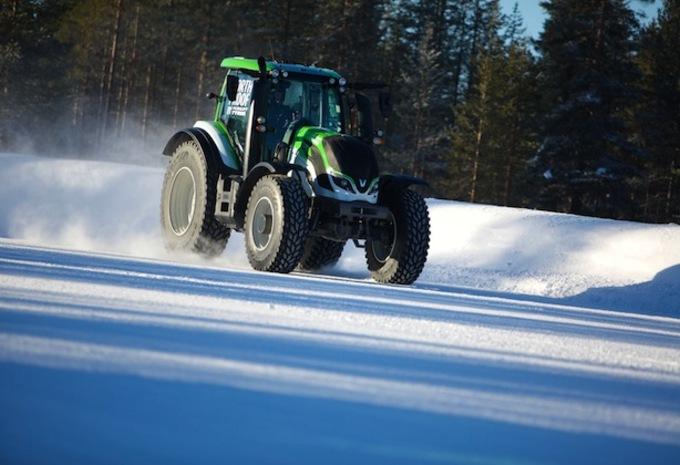 Kankkunen zet snelheidsrecord met tractor #1