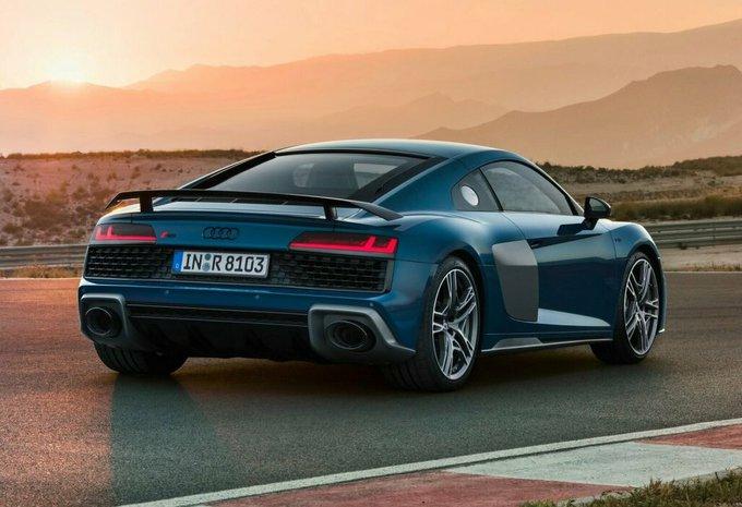 prijs audi r8 coupé 52 v10 456kw performance qttro s