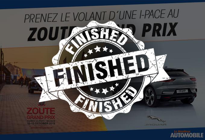 Prenez le volant d'une I-Pace au Zoute Grand Prix 2019 #1