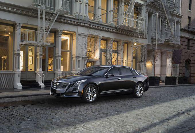 Cadillac CT6: nieuw vlaggenschip, ook voor Europa #1