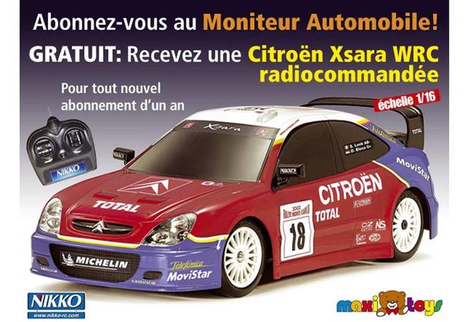 Une Xsara WRC avec Le Moniteur Automobile #1