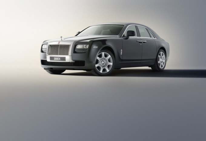 Suspensions à air pour la Rolls-Royce Ghost #1