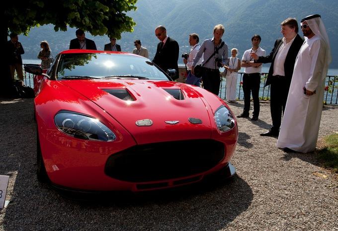 Aston Martin V12 Zagato in productie #1