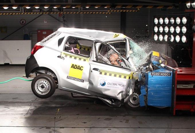 Désastre NCAP pour la Datsun Go #1