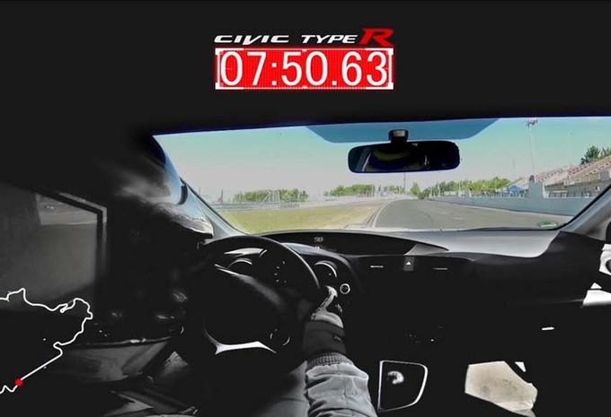 Salon Genève 2015 : Record pour la Honda Civic Type R sur le Nürburgring #1