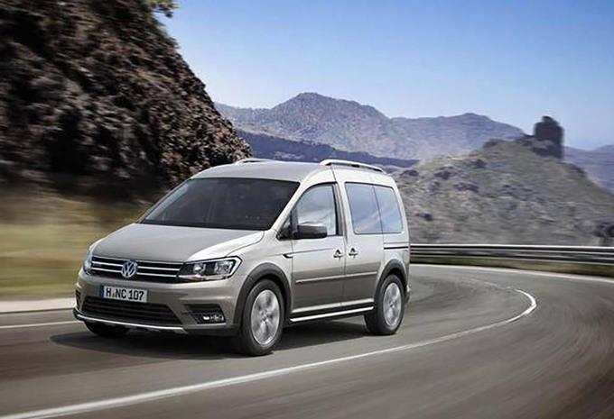 Volkswagen Caddy Alltrack 2016 : peur de rien #1