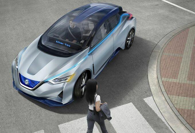 Nissan IDS Concept : future Leaf autonome ? #1